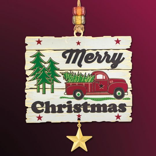 Merry Christmas Images 2019.2019 Beacon Design Merry Christmas Ornament