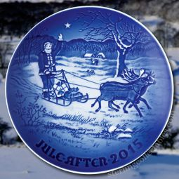 2015 bing grondahl annual christmas plate