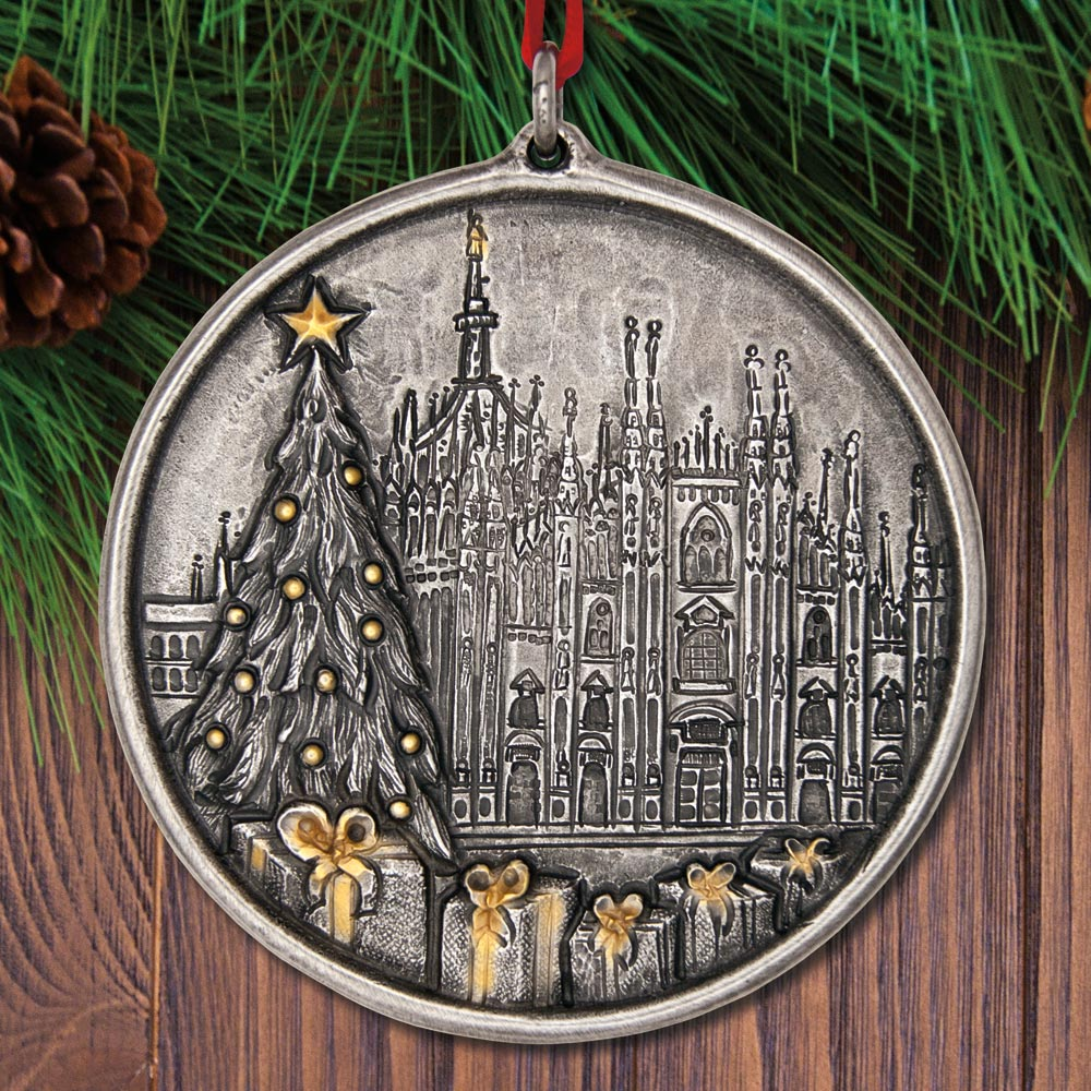 2017 Buccellati Duomo Christmas Sterling Ornament