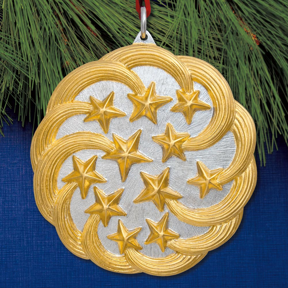 2018 Buccellati Stars Sterling Ornament Sterling