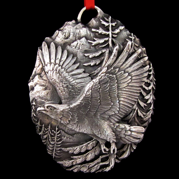 Buccellati Eagle Sterling Ornament Sterling Collectables