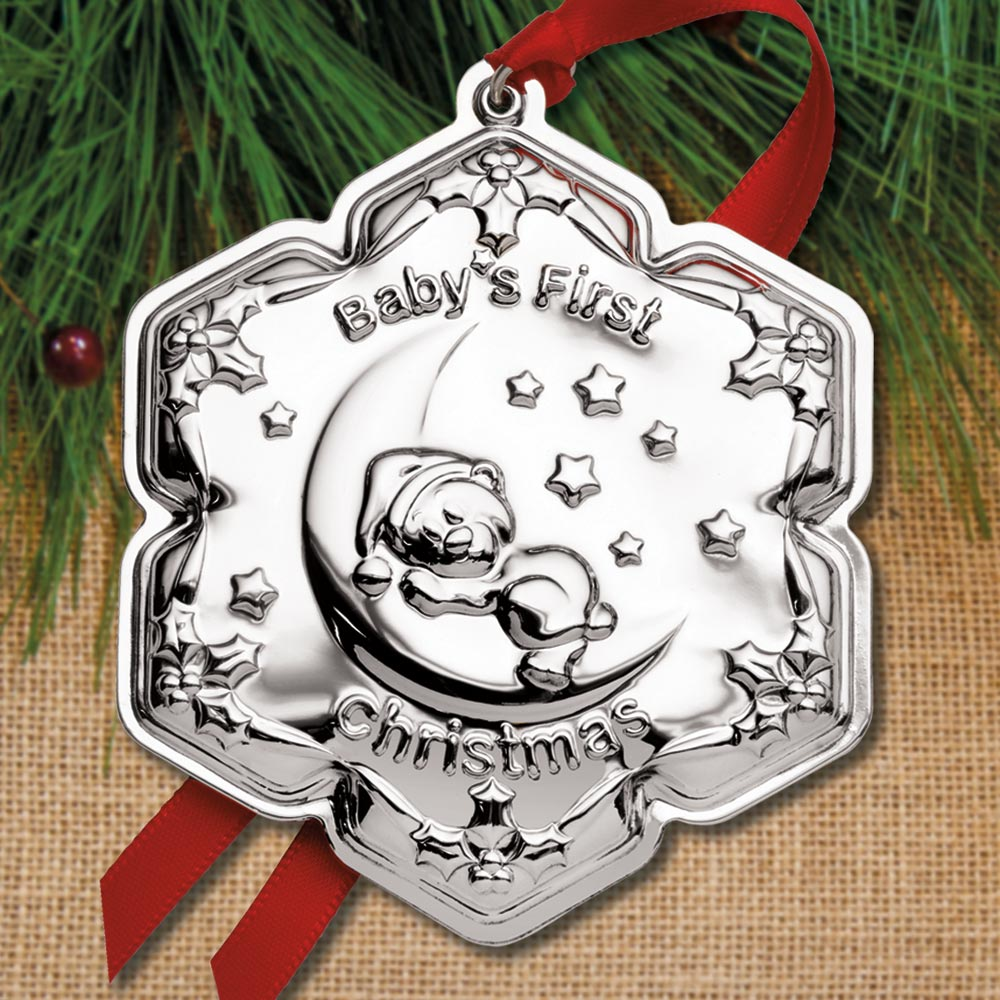 Empire Christmas 2020 Sterling Collectables: 2020 Empire Silver Baby's First Christmas