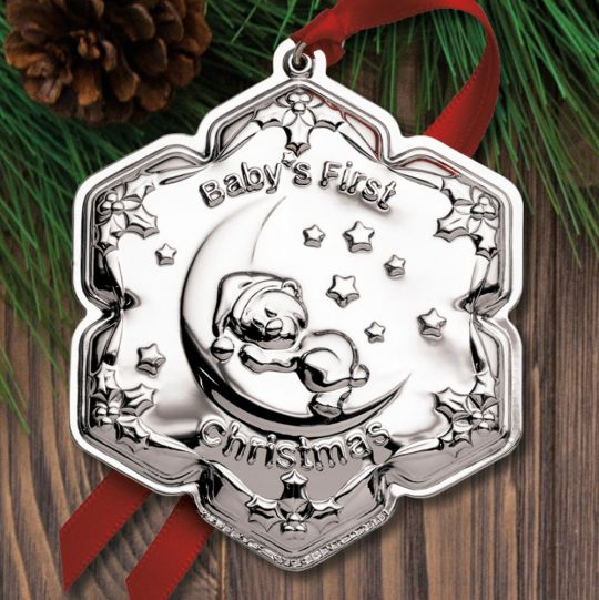 2019 Empire Baby S First Christmas Sterling Ornament