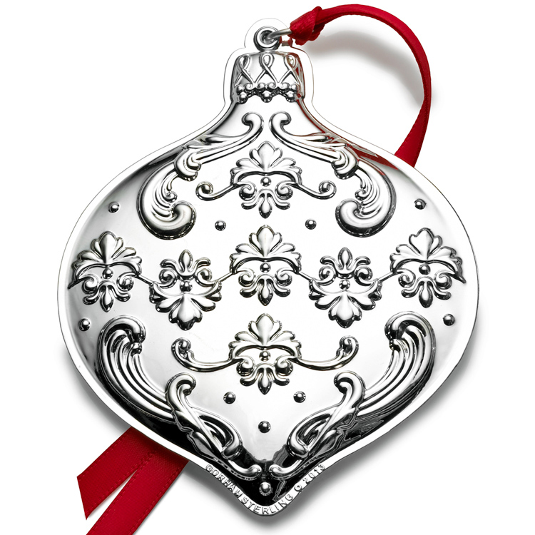 Baccarat Christmas Ornaments