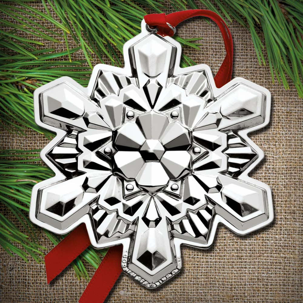 2016 Gorham Snowflake 47th Edition Sterling Ornament
