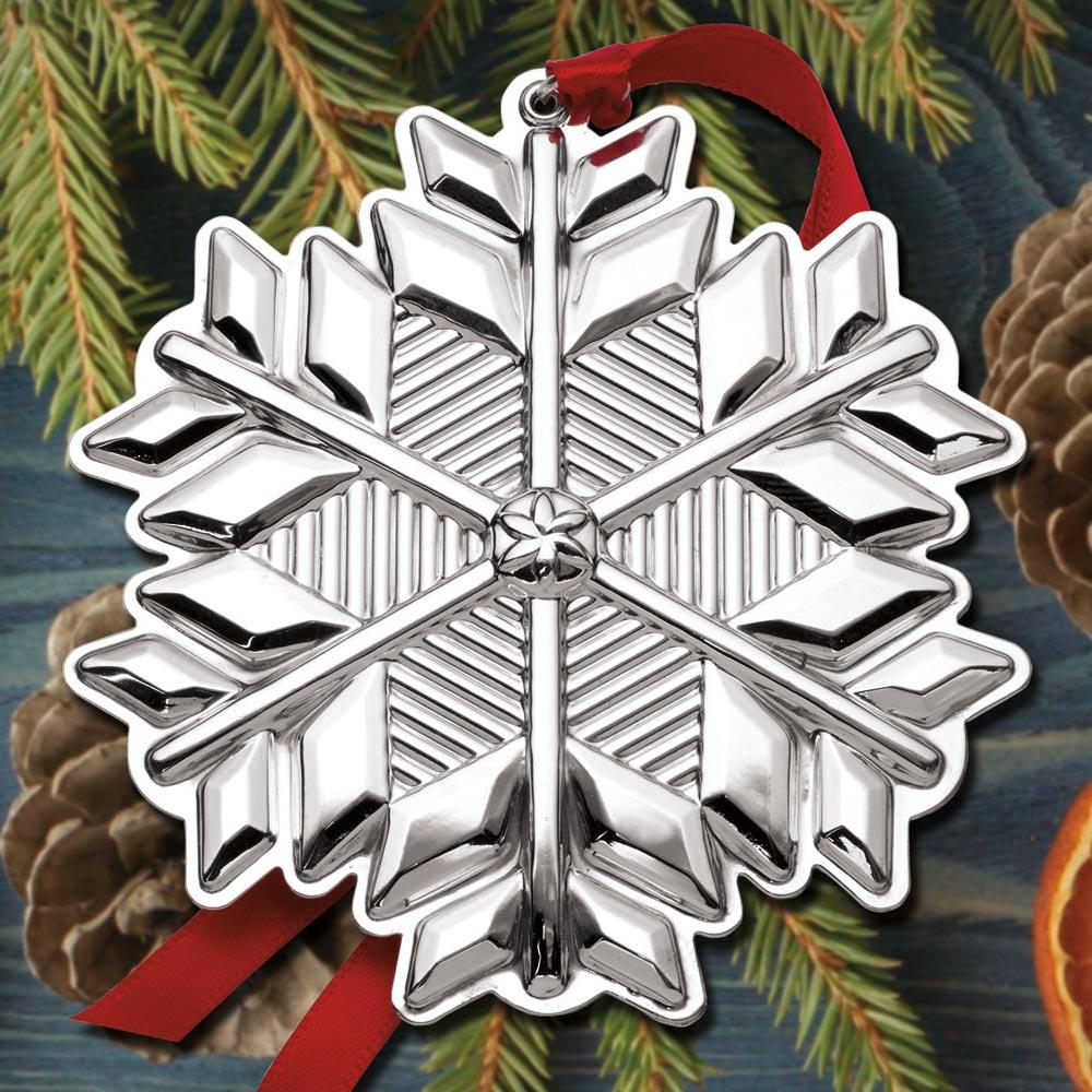 2017 Gorham Snowflake 48th Edition Sterling Ornament