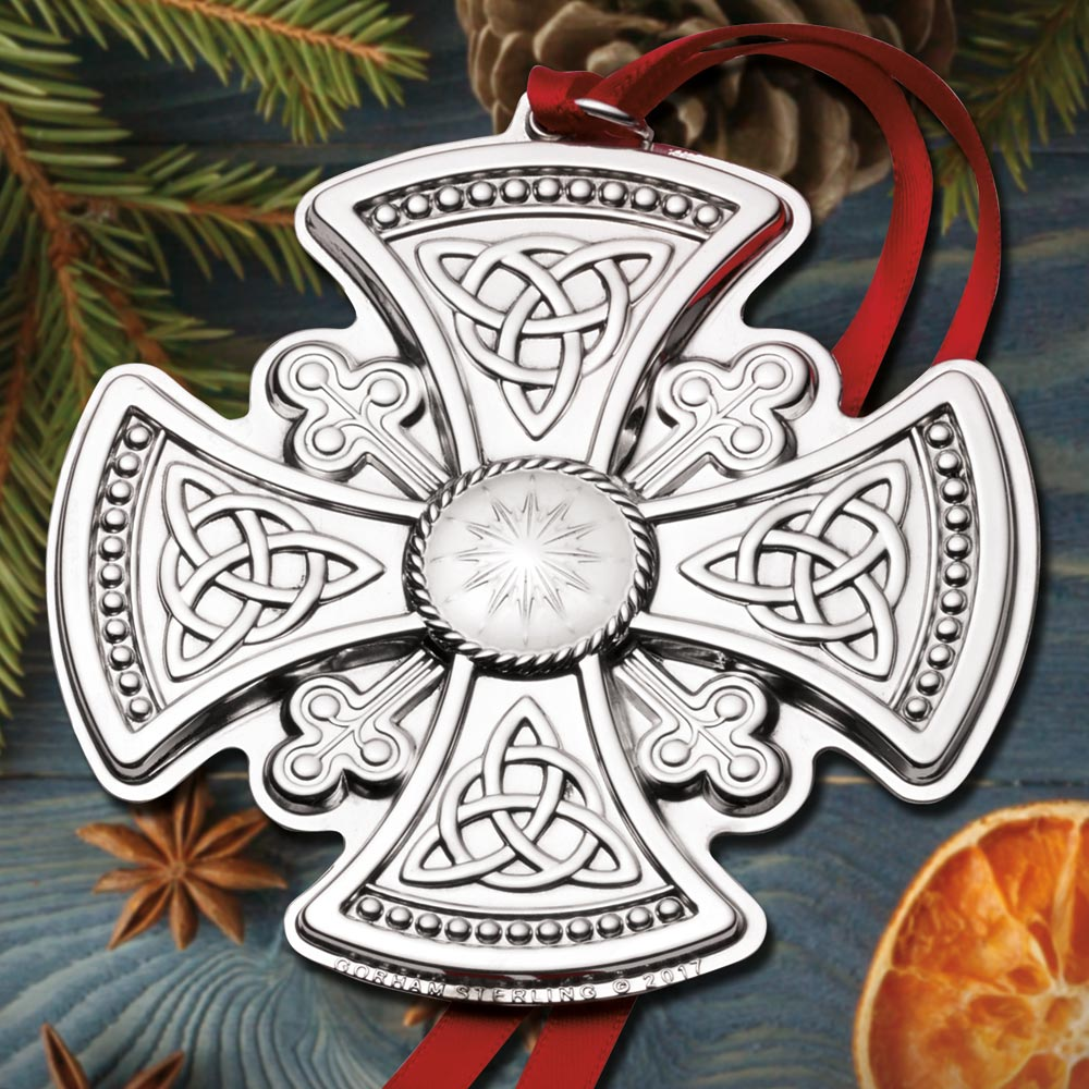 2017 Gorham Cross 4th Edition Sterling Ornament Sterling