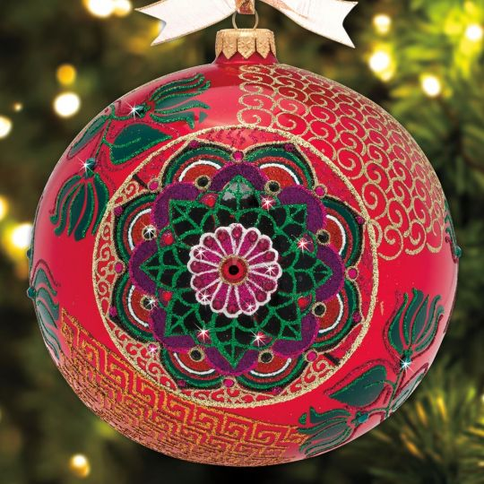 2018 Jay Strongwater Opulent Ornament