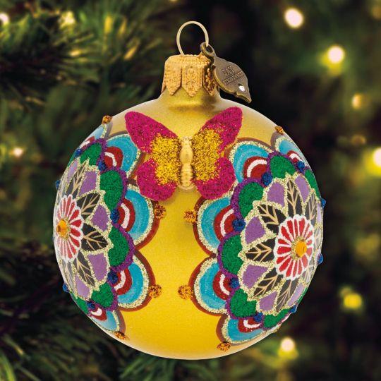 2019 Jay Strongwater Mandala Ornament