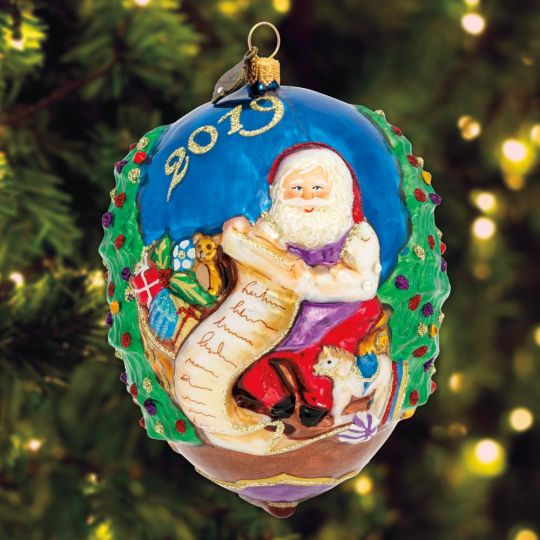 Awesome 2019 Jay Strongwater Santa Ornament Download Free Architecture Designs Scobabritishbridgeorg