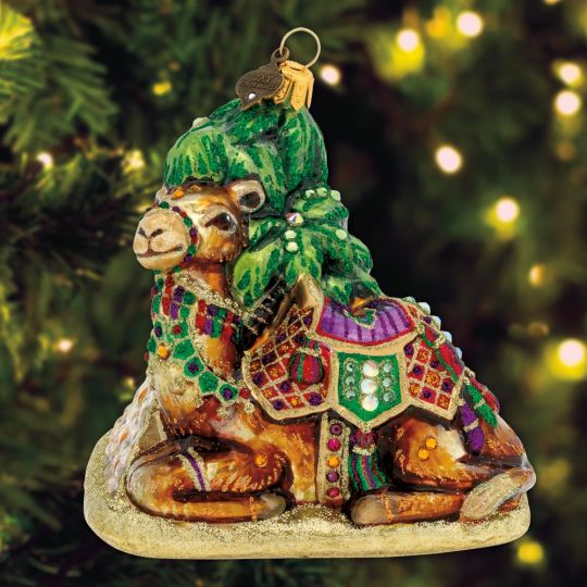 2019 Jay Strongwater Camel Ornament