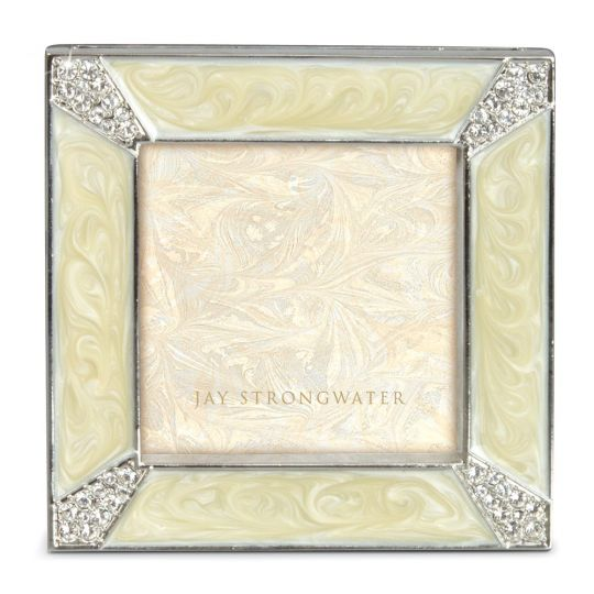 Jay Strongwater Pearl Leland Pave Corner 2\
