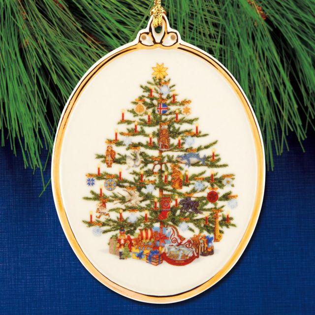 2020 Christmas Tree Around The World Lenox Sterling Collectables: 2020 Lenox Trees Around the World Iceland