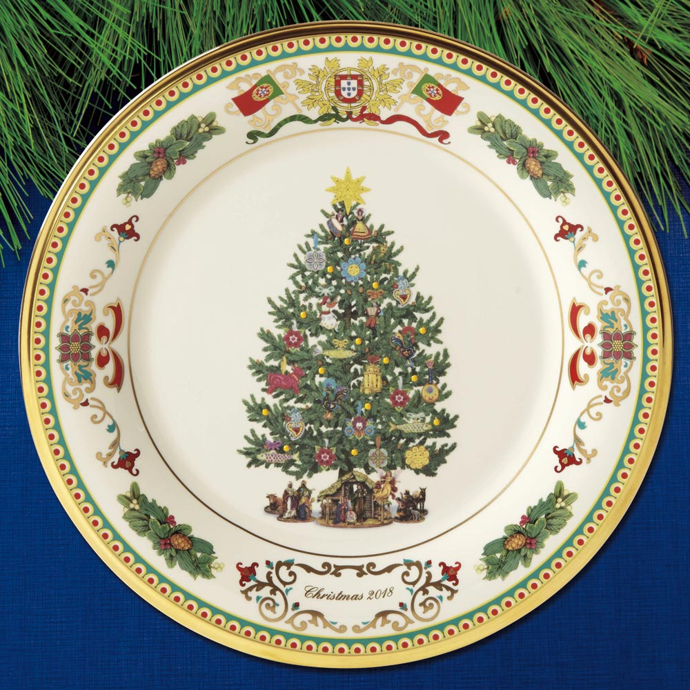 2018 Lenox Trees Around The World Portugal Plate