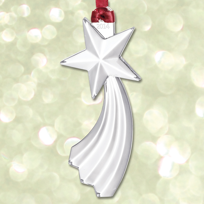 2014 Orrefors Shooting Star Annual Crystal Ornament