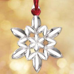 Baccarat Christmas Ornament
