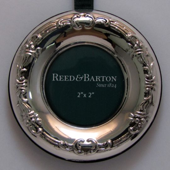 Reed Barton Francis 1st Sterling Picture Frame Ornament Sterling