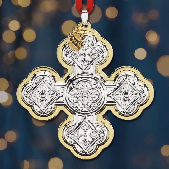 Reed And Barton Christmas Cross 2020 Sterling Collectables: 2020 Reed & Barton Christmas Cross 50th