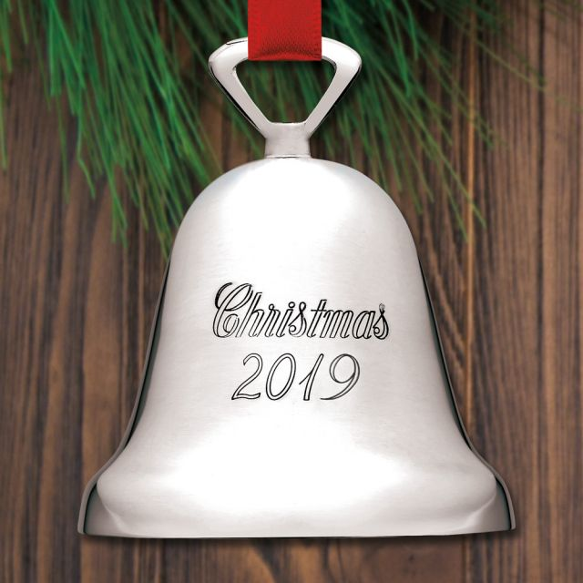 reed and barton silver bell 2019