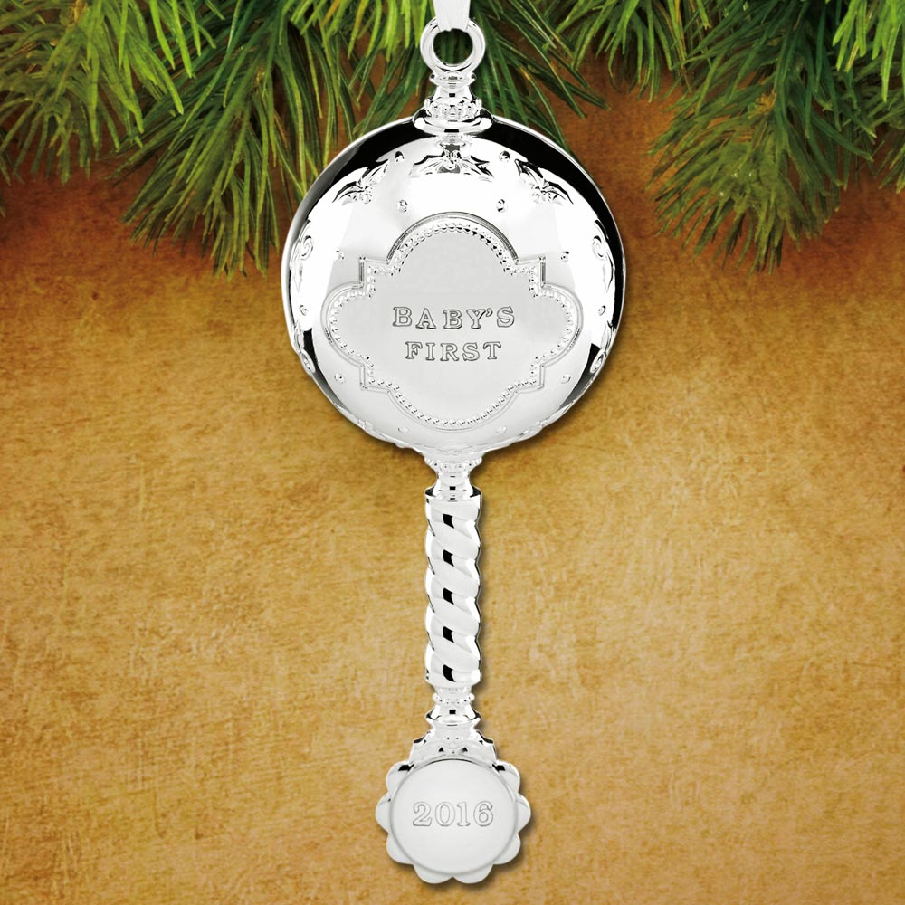 2016 Reed Amp Barton Baby S First Christmas Rattle