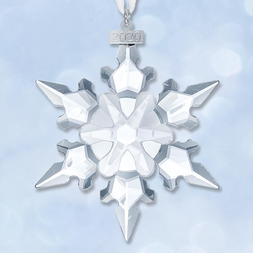 Crystal Christmas Ornaments 2020 Sterling Collectables: 2020 Swarovski Annual Snowflake Crystal