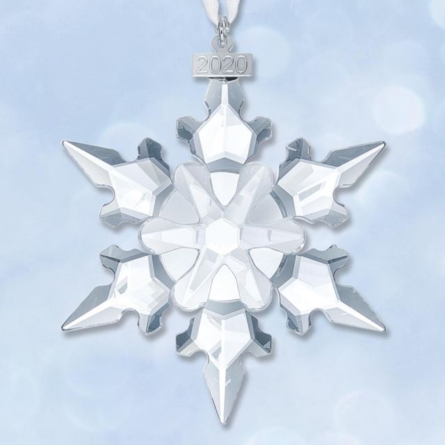 Collectable Christmas Ornament 2020 Sterling Collectables: 2020 Swarovski Annual Snowflake Crystal