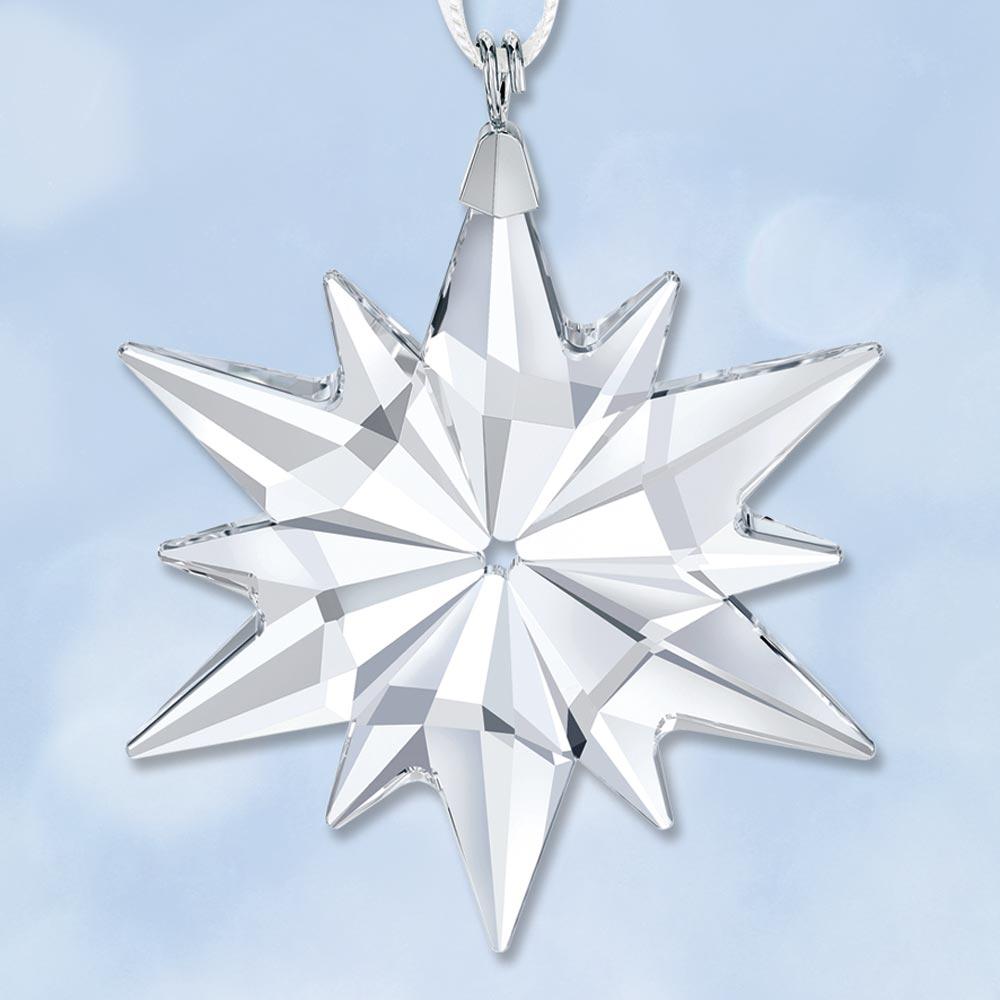 2017 swarovski annual little star crystal ornament