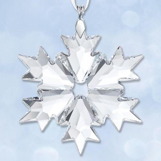 2018 Swarovski Annual Little Snowflake Crystal Ornament | Sterling ...