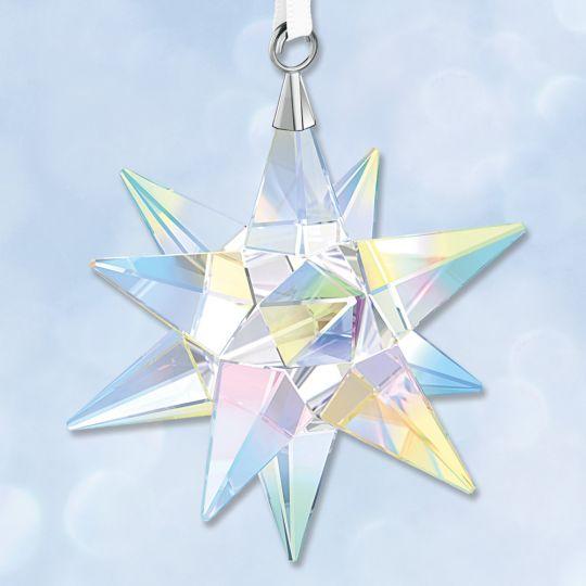 14f296301ec 2017 Swarovski Aurora Borealis Star 3D Crystal Ornament | Sterling  Collectables
