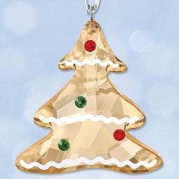 783b5fd66a3a Swarovski Gingerbread Tree Crystal Ornament