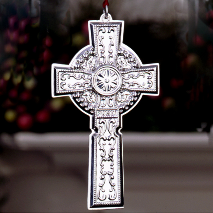 2001 Towle Cross Sterling Ornament Sterling Collectables