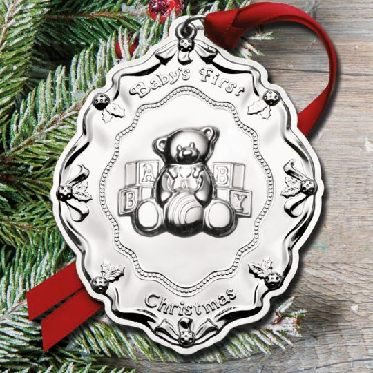 2017 towle babys first christmas sterling ornament