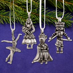 2018 Pewter Ornaments