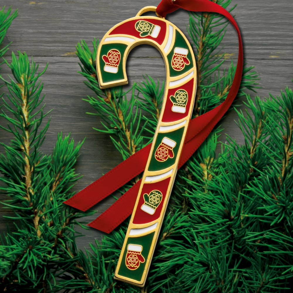 2016 wallace candy cane 36th edition goldplate  u0026 enamel