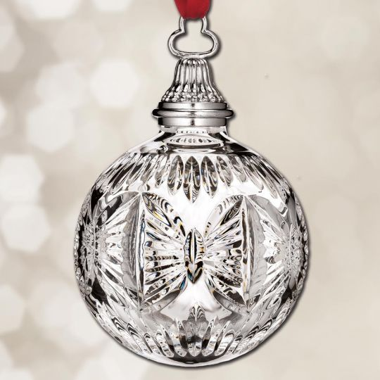 Waterford Crystal Christmas Ornaments.2018 Waterford Times Square Ball Annual Crystal Ornament
