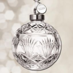 2020 Waterford Times Square Ball Crystal Ornament